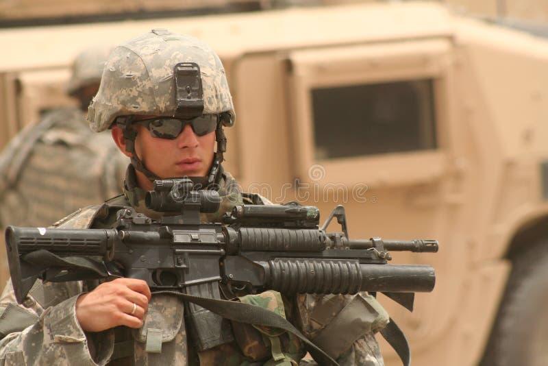 武装的牙 库存照片