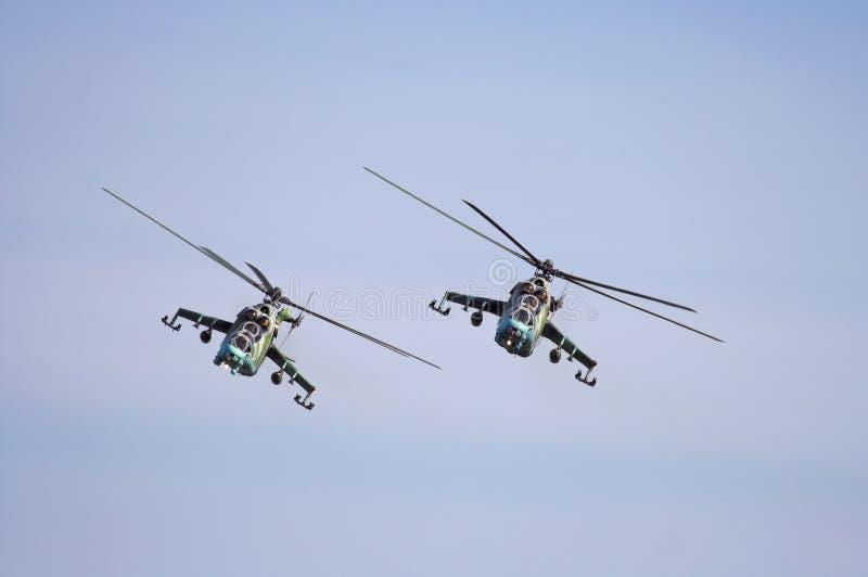 武装直升机 库存图片