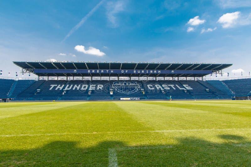 武里喃府团结了泰国同盟橄榄球俱乐部 免版税库存图片
