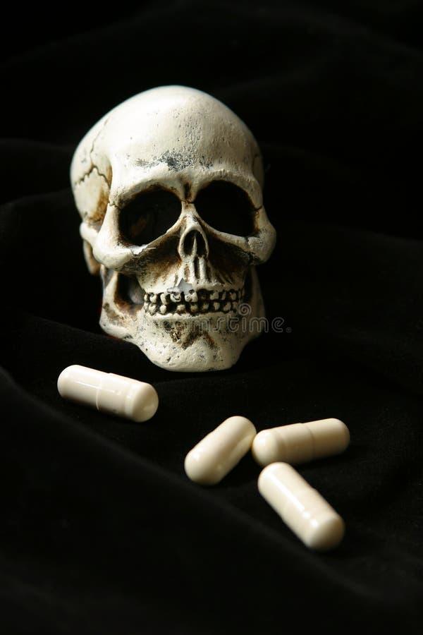 死亡剂量s 库存照片