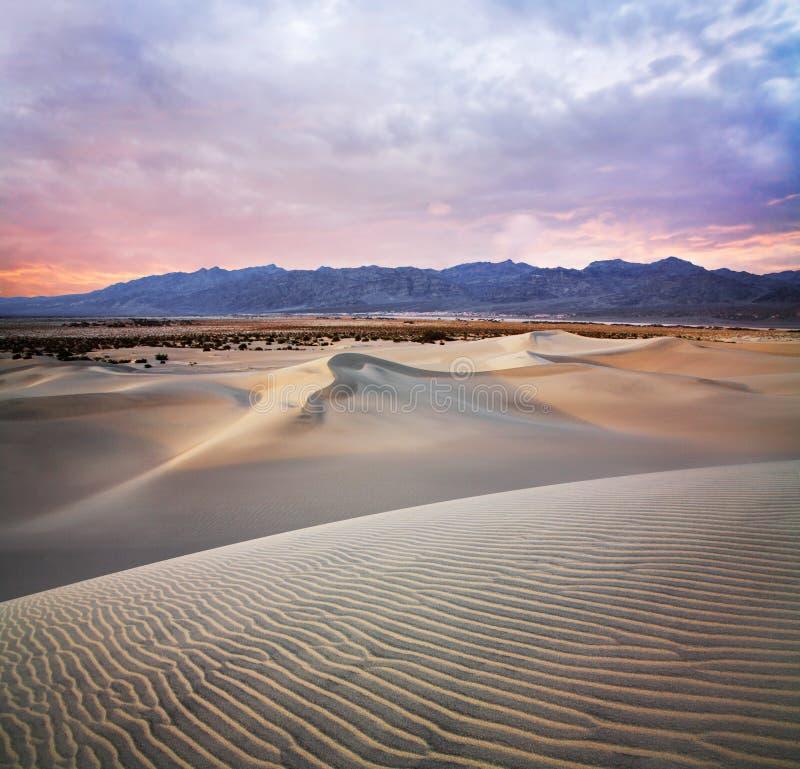死亡国家公园谷 免版税库存照片