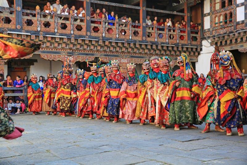 死亡节日v,不丹的阁下 库存照片