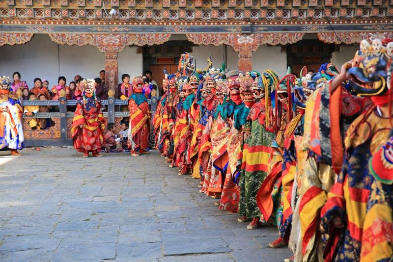 死亡节日VI,不丹的阁下 库存图片