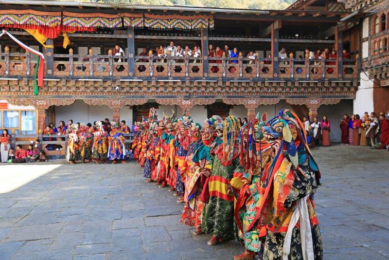 死亡节日VIII,不丹的阁下 免版税图库摄影