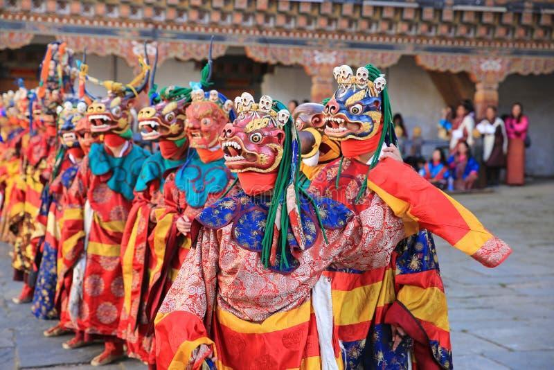死亡节日x,不丹的阁下 库存图片