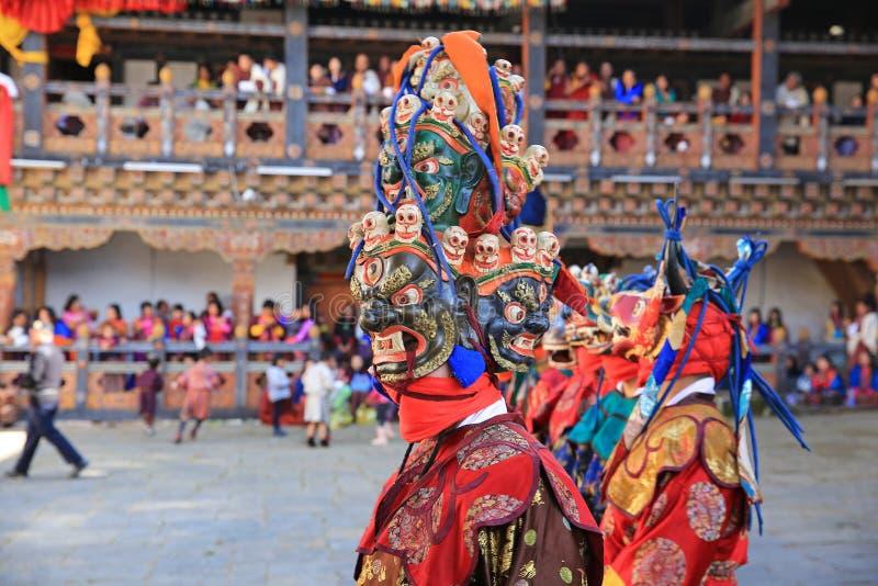 死亡节日XI,不丹的阁下 库存照片