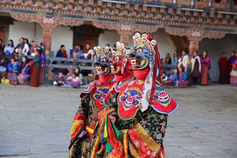 死亡节日XIII,不丹的阁下 库存图片