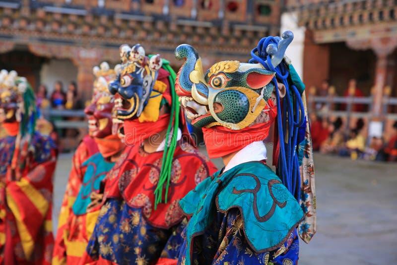 死亡节日XVI,不丹的阁下 图库摄影