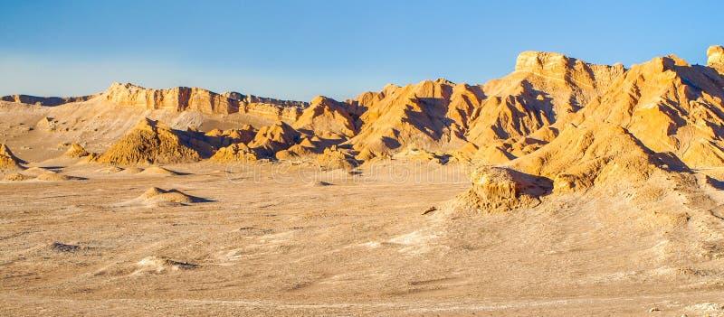 死亡谷在圣佩德罗德阿塔卡马,智利附近的od阿塔卡马沙漠 图库摄影