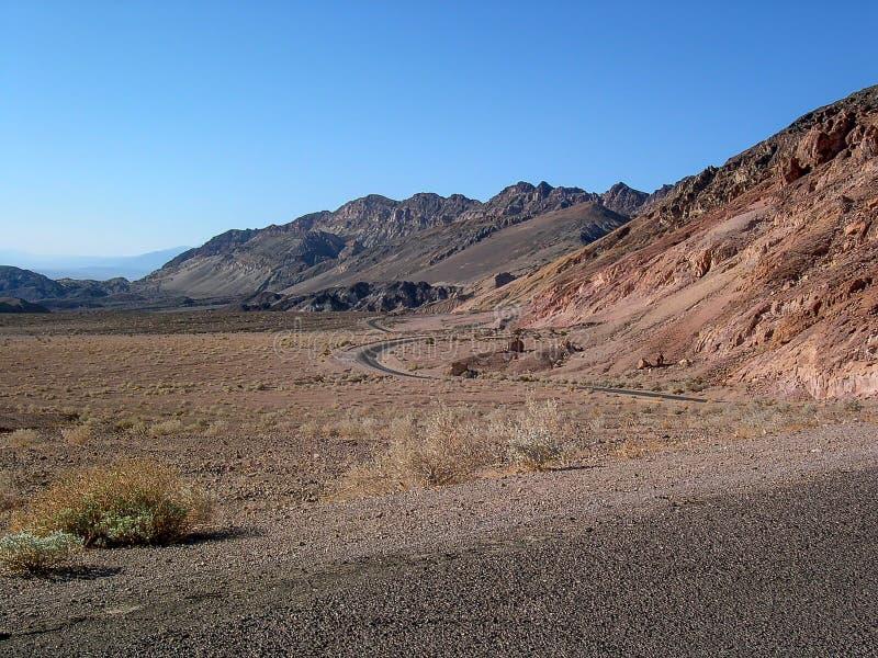 死亡谷,加利福尼亚, U S A 图库摄影