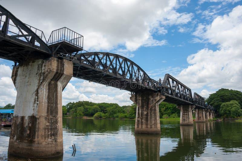 死亡铁路桥 库存图片