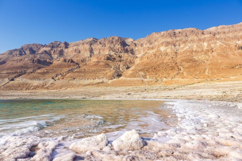 死海以色列风景自然 免版税图库摄影