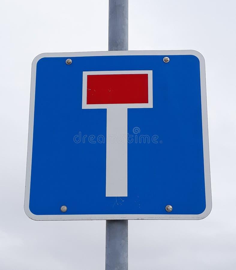 死角路标 免版税图库摄影