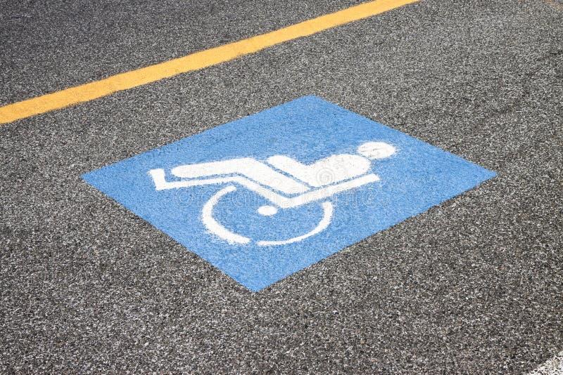 残疾人人的标志 免版税库存图片