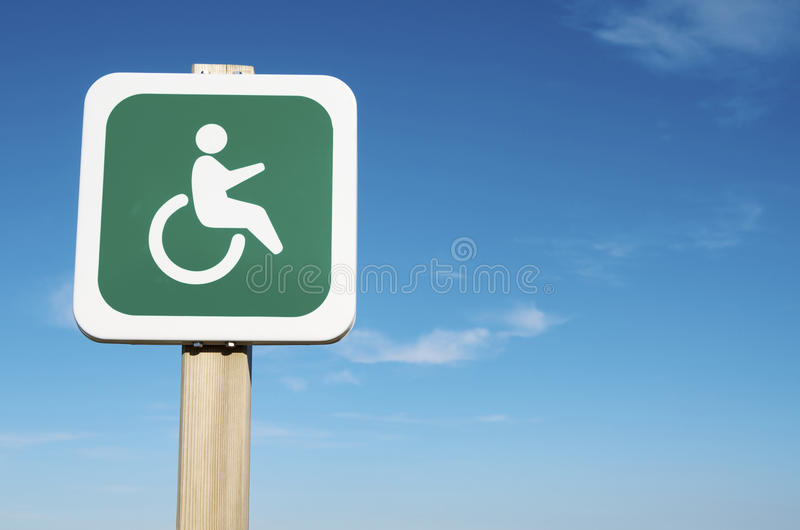 残疾优先级 库存照片