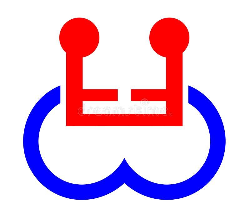 残疾共享的符号 库存图片