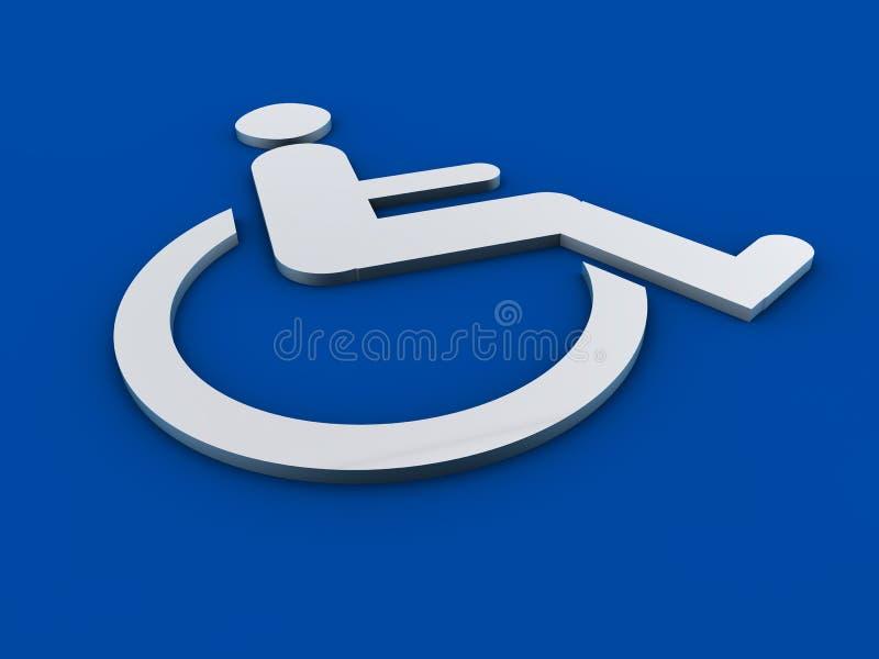 残疾符号第508部分 向量例证