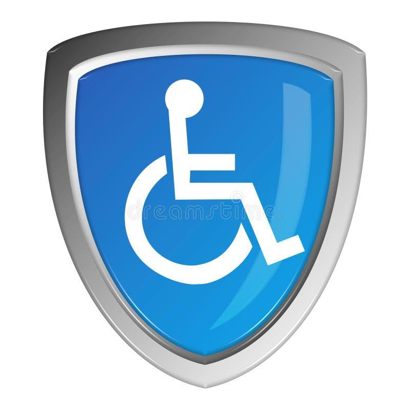 残疾符号 向量例证
