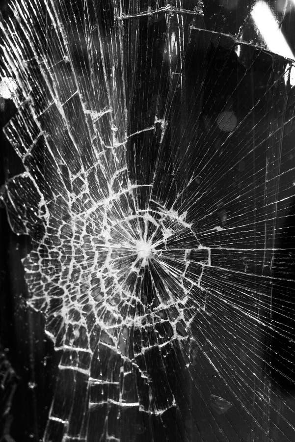 残破的玻璃背景 库存照片