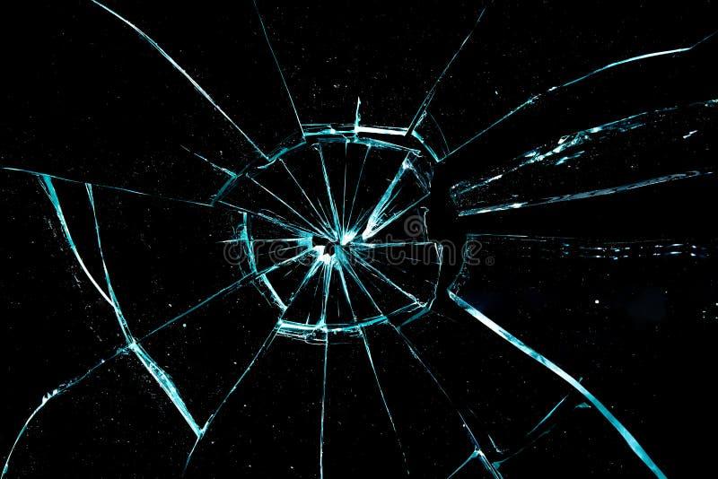 残破的玻璃