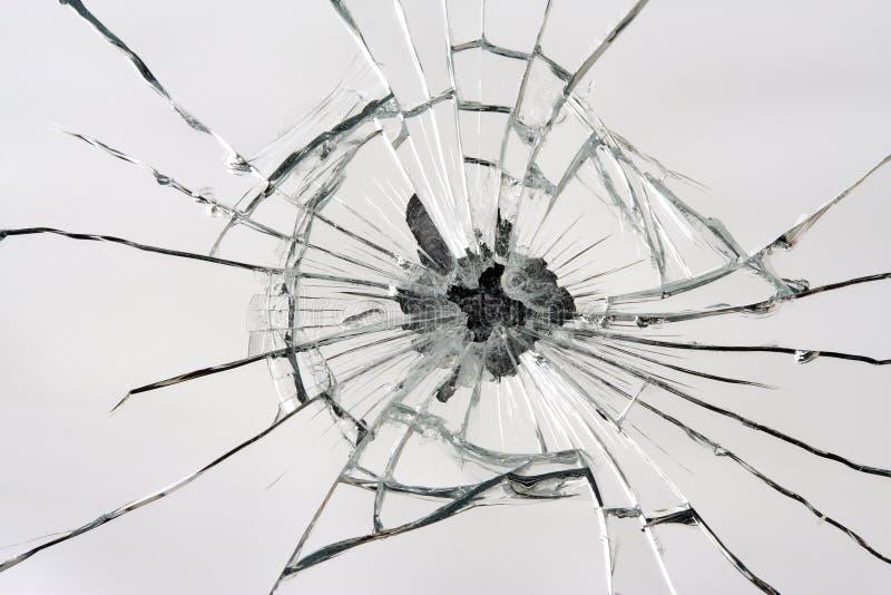 残破的镜子 免版税图库摄影