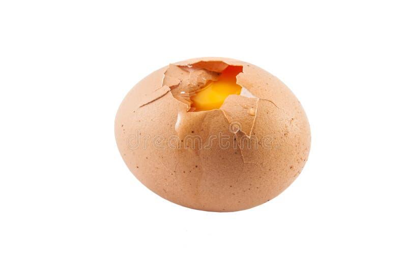 残破的鸡蛋 免版税库存图片