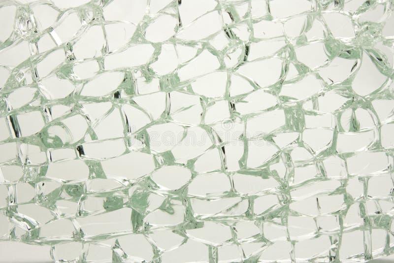 残破的玻璃 免版税库存图片