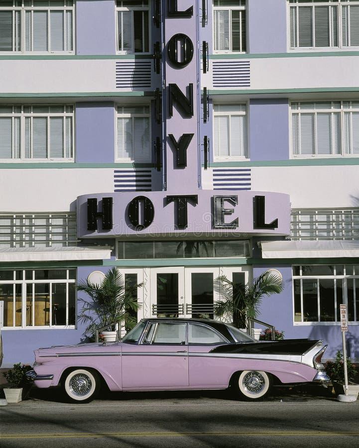 殖民地旅馆 免版税库存照片