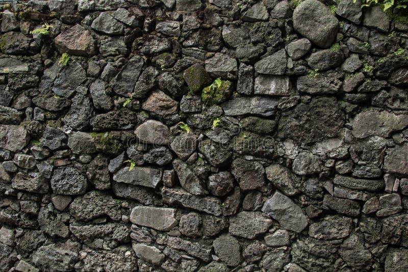 殖民地石被风化的背景 图库摄影