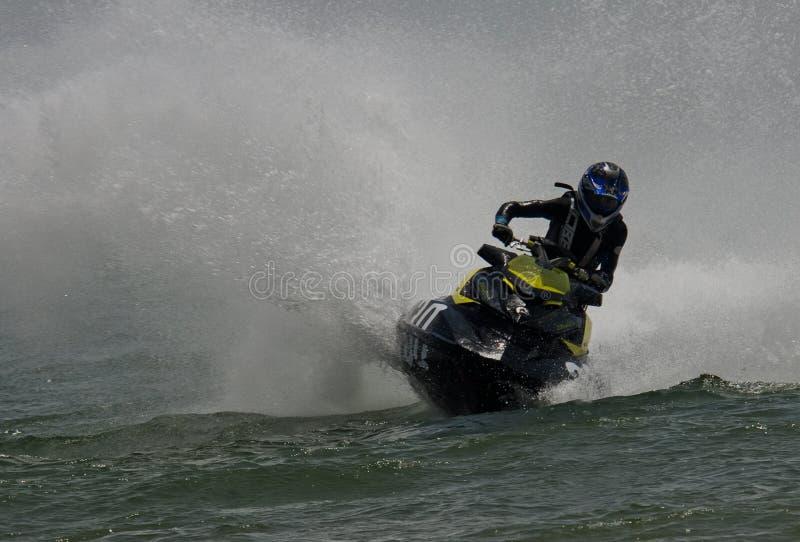 殿下水滑行车第一国际赛船会  免版税库存图片
