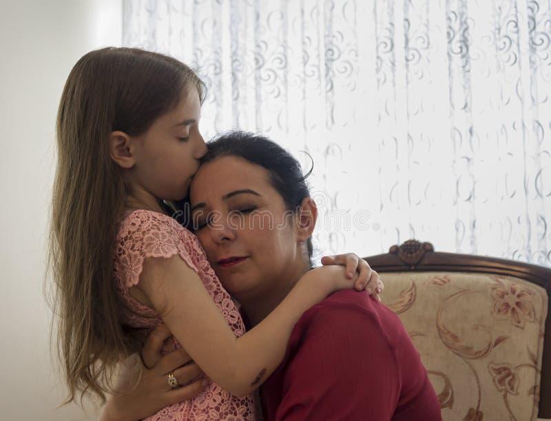 母亲节快乐与孩子 图库摄影