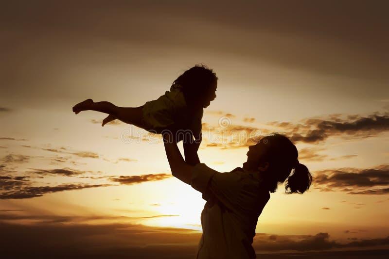 母亲节概念 免版税库存照片