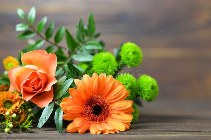 母亲节花 花花束 库存图片