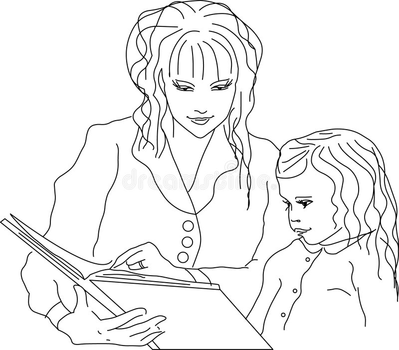 母亲 向量例证