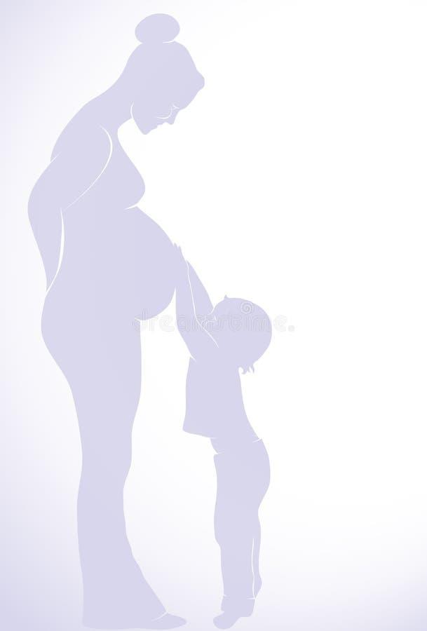 母性 库存例证