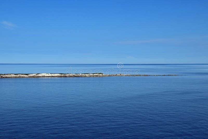 母牛顶头海景,纽芬兰加拿大 库存图片