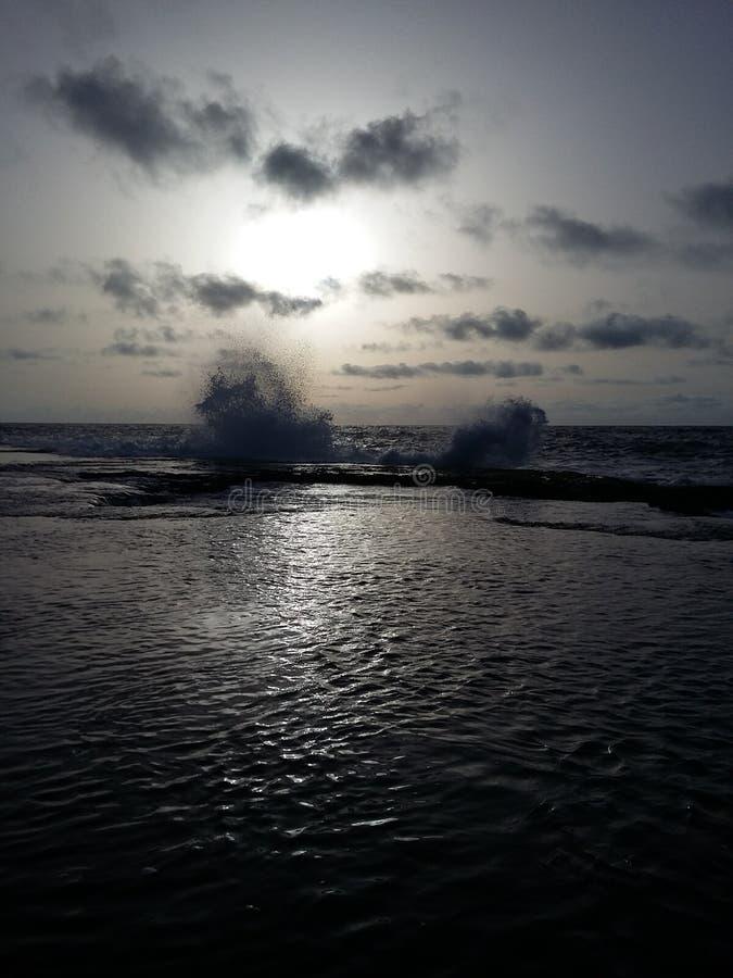 每个定义的一张富有的图片在日落太阳前的 库存照片