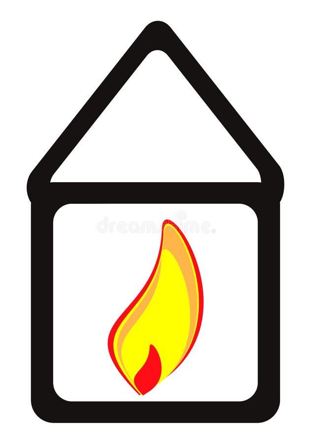 每个热房子 免版税库存图片