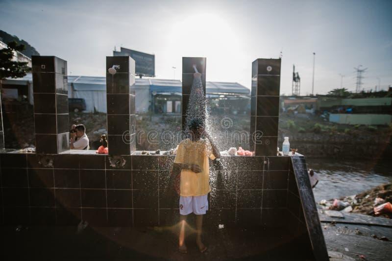 每年印度大宝森节节日在黑风洞吉隆坡 库存图片