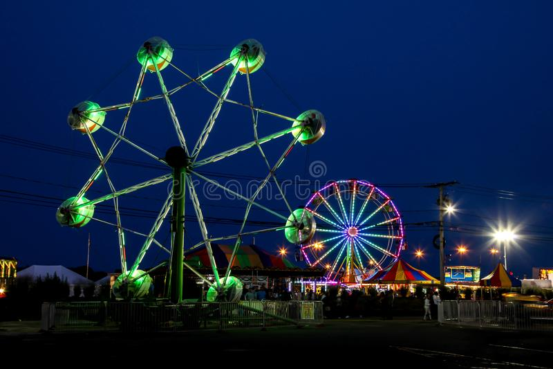 每年诺瓦克牡蛎节日 库存照片