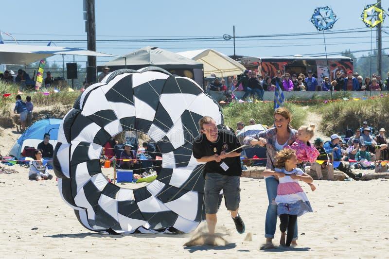 每年风筝飞行节日 图库摄影