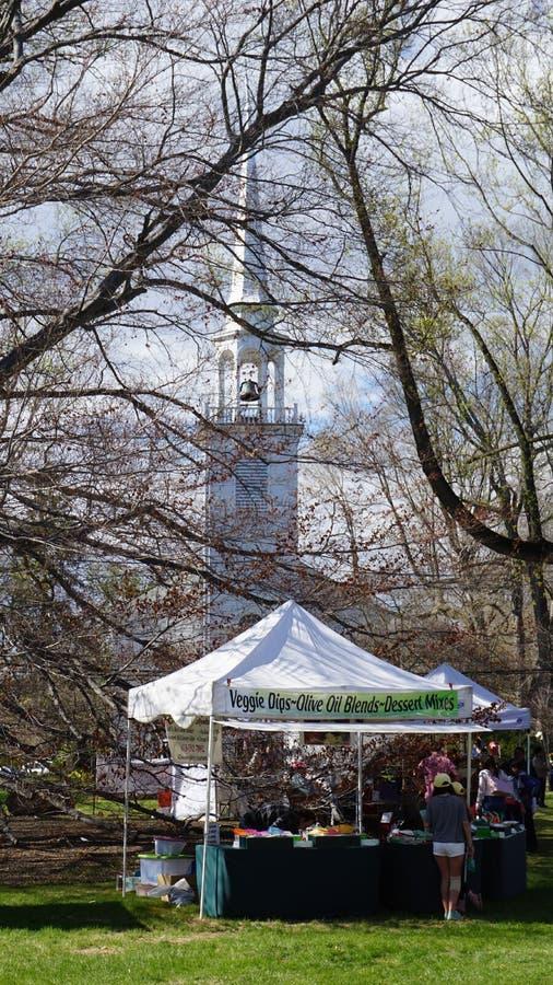 每年山茱萸节日在费尔菲尔德,康涅狄格 图库摄影