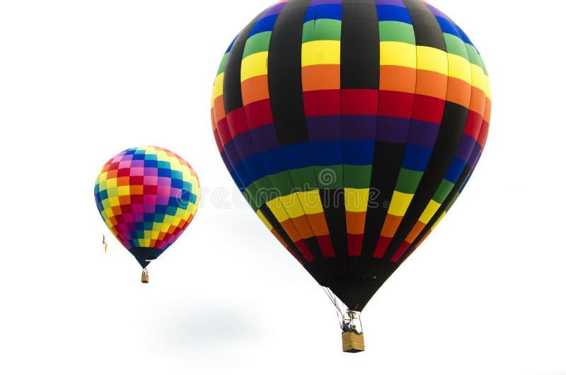 每年科罗拉多泉劳动节离地升空 免版税库存照片