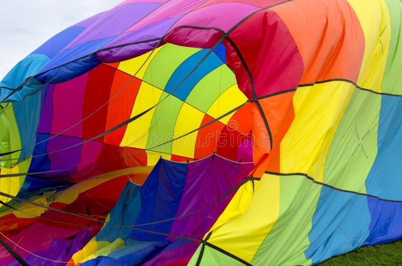 每年科罗拉多泉劳动节离地升空 免版税库存图片