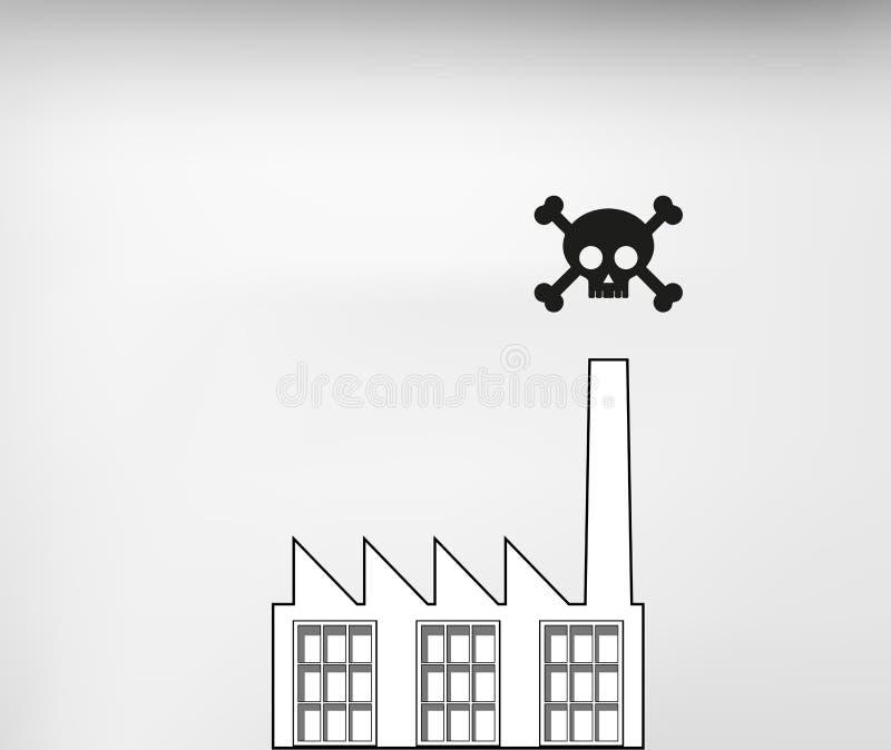 毒性产业 库存例证