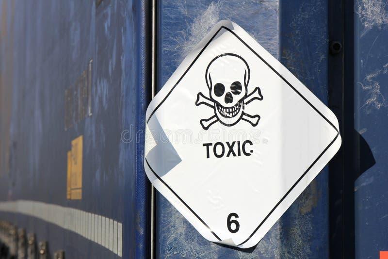 毒性物质 免版税库存照片