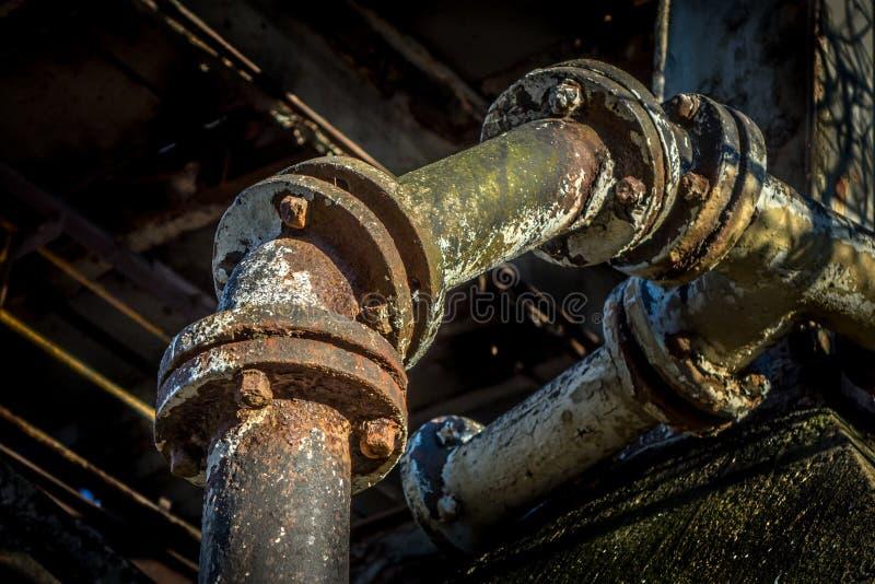 毒性管子 免版税库存图片