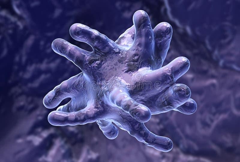 毒菌 向量例证