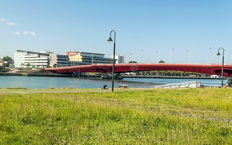 比亚利兹桥梁 免版税库存图片