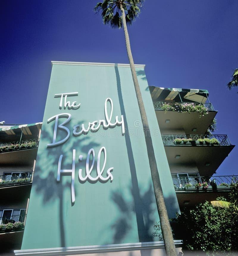 比佛利山旅馆,洛杉矶,加利福尼亚 库存图片